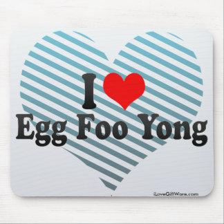 I Love Egg Foo Yong Mouse Pad