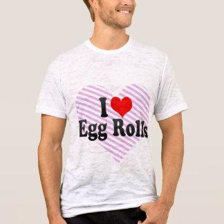 I Love Egg Rolls T-Shirt