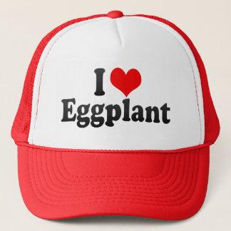 I Love Eggplant Trucker Hat