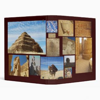 I Love Egypt 3 Ring Binder