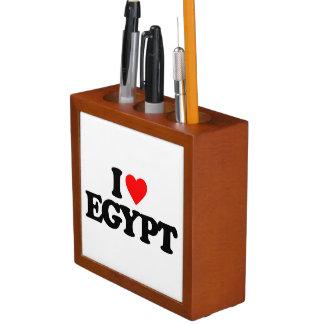 I LOVE EGYPT PENCIL HOLDER
