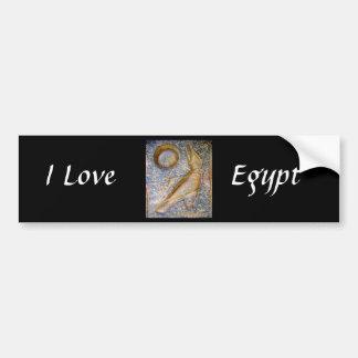 I Love Egypt - Horus Bumper Sticker