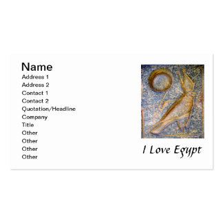 I Love Egypt - Horus Double-Sided Standard Business Cards (Pack Of 100)
