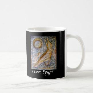 I Love Egypt - Horus Classic White Coffee Mug