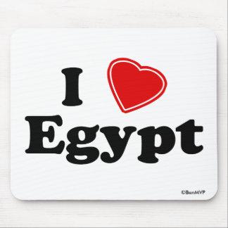 I Love Egypt Mouse Pad