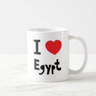 I love Egypt Basic White Mug