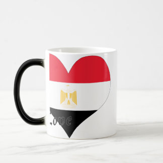 I love Egypt 11 Oz Magic Heat Color-Changing Coffee Mug