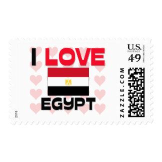 I Love Egypt Postage