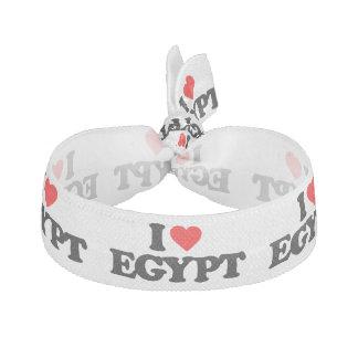 I LOVE EGYPT ELASTIC HAIR TIES