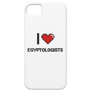I love Egyptologists iPhone 5 Cases