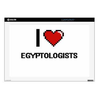 "I love Egyptologists Skin For 17"" Laptop"