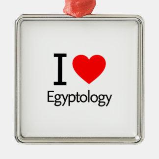 I Love Egyptology Christmas Tree Ornament