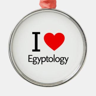 I Love Egyptology Ornaments