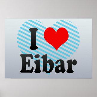 I Love Eibar, Spain Posters