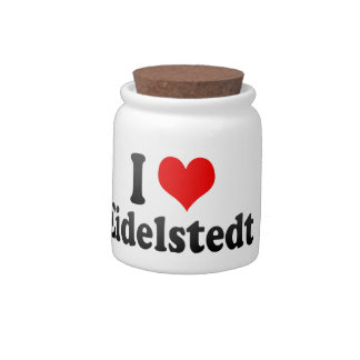 I Love Eidelstedt, Germany Candy Dish