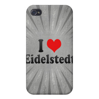 I Love Eidelstedt, Germany Covers For iPhone 4