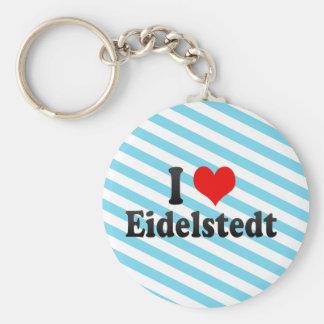 I Love Eidelstedt, Germany Keychains