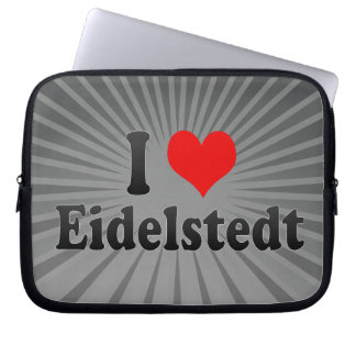 I Love Eidelstedt, Germany Computer Sleeves