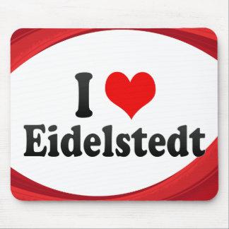 I Love Eidelstedt, Germany Mousepad