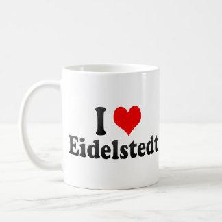 I Love Eidelstedt, Germany Mugs
