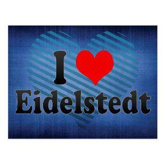 I Love Eidelstedt, Germany Postcard