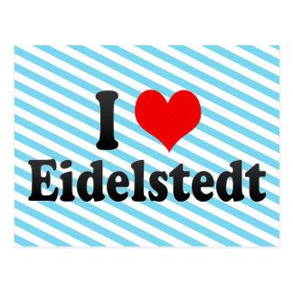 I Love Eidelstedt, Germany Post Card