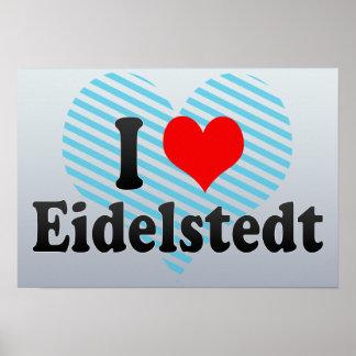 I Love Eidelstedt, Germany Poster