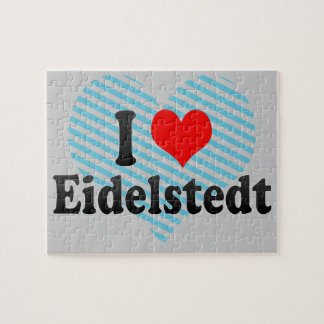 I Love Eidelstedt, Germany Puzzles