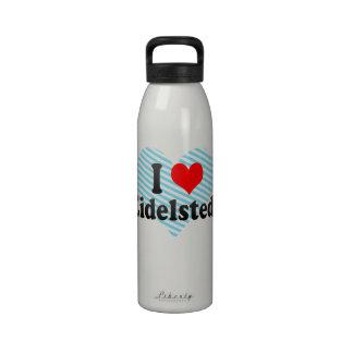 I Love Eidelstedt, Germany Water Bottle