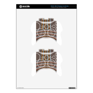 I Love Eiffel Tower  Paris With Love blue sky colo Xbox 360 Controller Skin