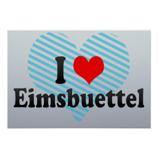 I Love Eimsbuettel, Germany Posters
