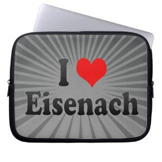 I Love Eisenach, Germany Laptop Computer Sleeves