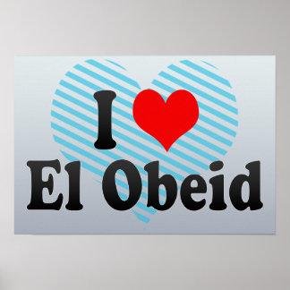 I Love El Obeid, Sudan Poster