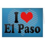 I Love El Paso Card