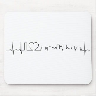 I love El Paso in an extraordinary ecg style Mouse Pad