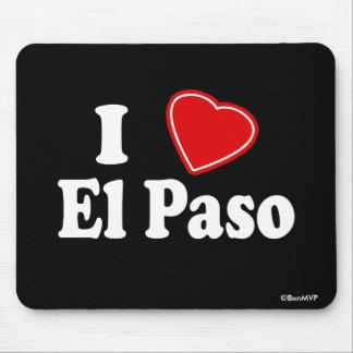 I Love El Paso Mouse Pad