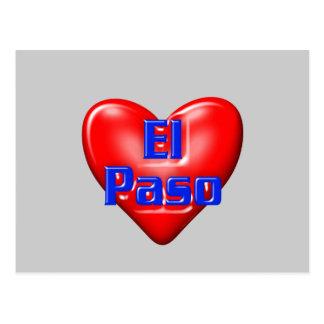 I Love El Paso Postcard