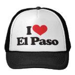 I Love El Paso Trucker Hats