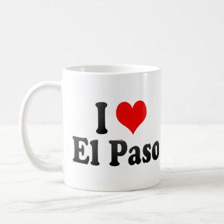 I Love El Paso, United States Coffee Mug