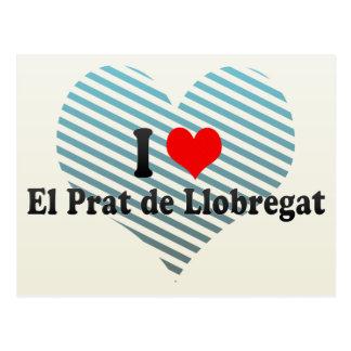 I Love El Prat de Llobregat, Spain Postcard