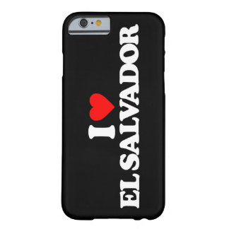 I LOVE EL SALVADOR BARELY THERE iPhone 6 CASE