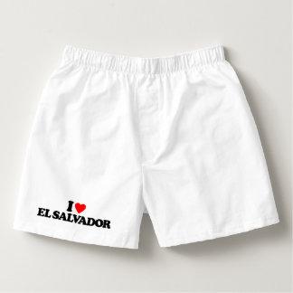 I LOVE EL SALVADOR BOXERS