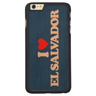 I LOVE EL SALVADOR CARVED CHERRY iPhone 6 PLUS SLIM CASE