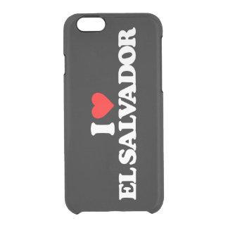 I LOVE EL SALVADOR CLEAR iPhone 6/6S CASE