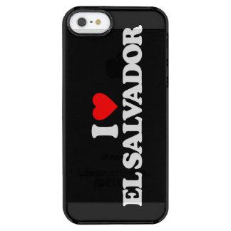 I LOVE EL SALVADOR CLEAR iPhone SE/5/5s CASE
