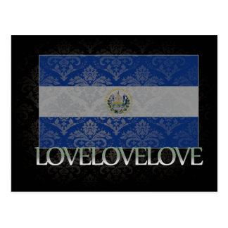 I love El Salvador Cool Postcard