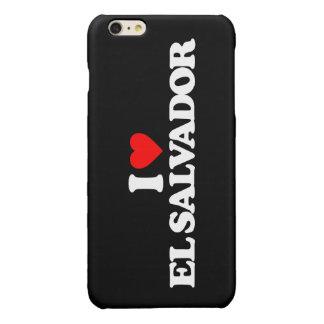 I LOVE EL SALVADOR GLOSSY iPhone 6 PLUS CASE