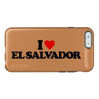I LOVE EL SALVADOR INCIPIO FEATHER SHINE iPhone 6 CASE