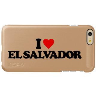I LOVE EL SALVADOR INCIPIO FEATHER SHINE iPhone 6 PLUS CASE