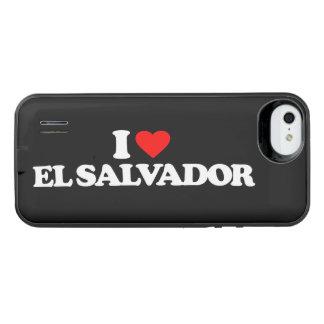 I LOVE EL SALVADOR iPhone SE/5/5s BATTERY CASE